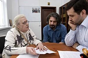 """Марина Журинская в редакции """"Фомы"""""""
