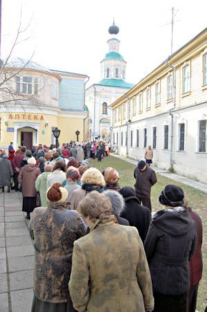 Святая Матрона Московская. Покровский монастырь