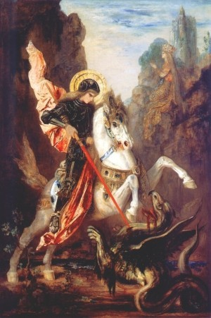 Святой Великомученик Георгий Победоносец. Картина