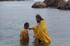 Крещение мусульманина