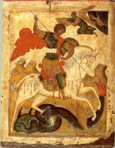 Великомученик Георгий Победоносец - икона