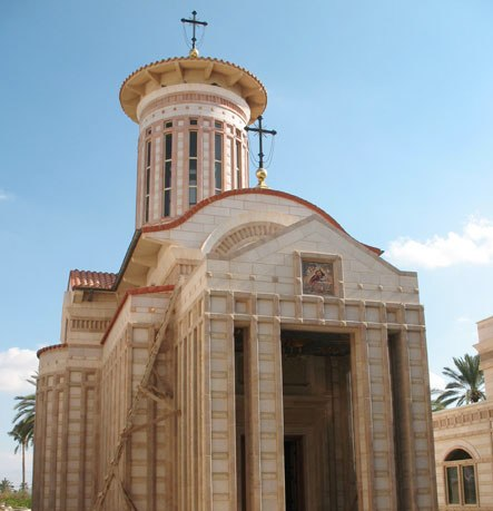 Спорный храм в Иерихоне