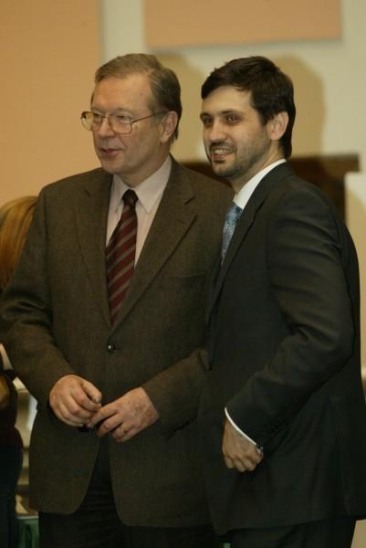 С Кшиштофом Занусси