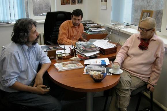 С Владимиром Гурболиковым и Татьяной Горичевой. Фото из архива В. Легойды