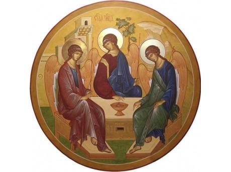 Круглая икона для иконостаса или царских врат, круглые иконные доски, круглые киоты и рамки.Кракотка