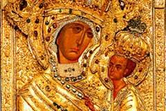 Тихвинская икона Божией Матери: Северная Царица
