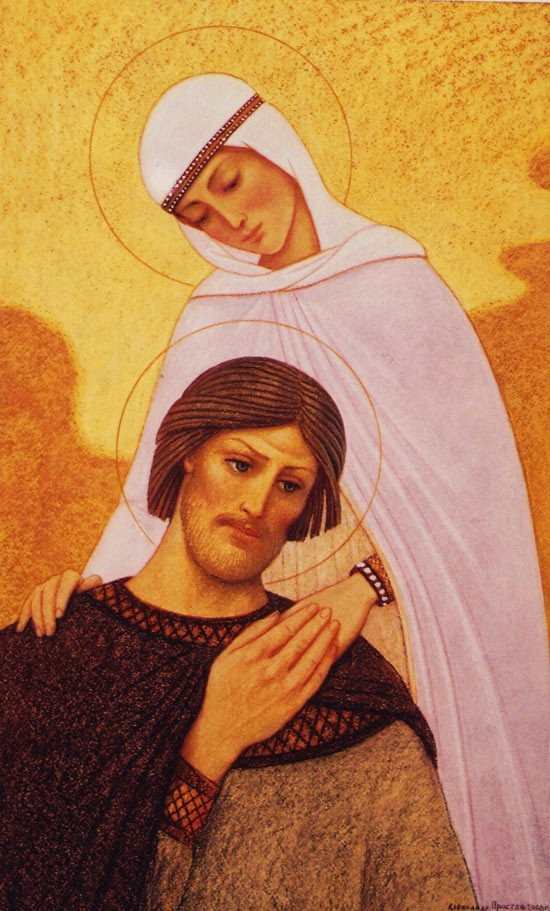 «Житие святых Петра и Февронии Муромских в живописи Александра Простева»