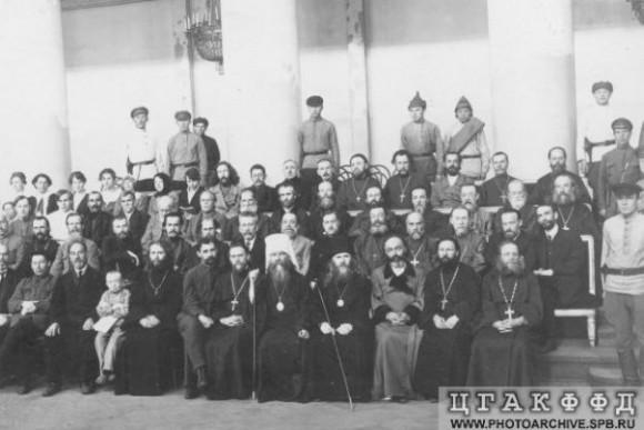 Обвиняемые по делу митрополита Вениамина