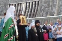 Молитва на Саяно-Шушенской ГЭС (+ фото)