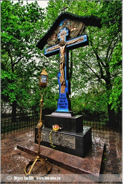 Крест-памятник Великому Князю Сергею Александровичу Романову. Фото Алексей Лучин lou-photo.ru