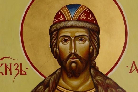 Святой Александр Невский. Икона Александра Айнетдинова