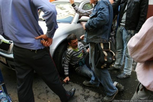 Пострадавший журналист. Фото http://ridus-news.livejournal.com