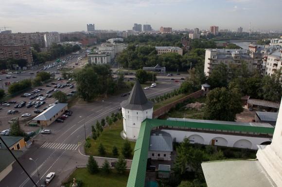 Москва с колокольни. Фото Юлии Маковейчук