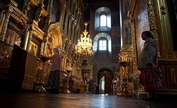 В соборе. Фото Юлии Маковейчук