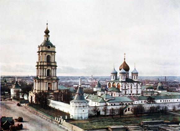 Новоспасский монастырь в 1913 году