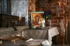 Успение в заброшенном храме (ФОТО)