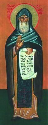 Святой Викентий Лиринский