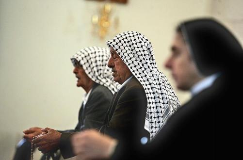 Христиане Палестины а храме