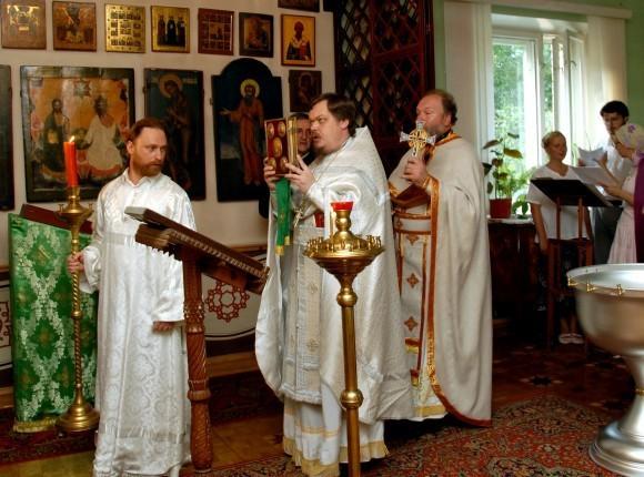 2007. Крещальная Литургия