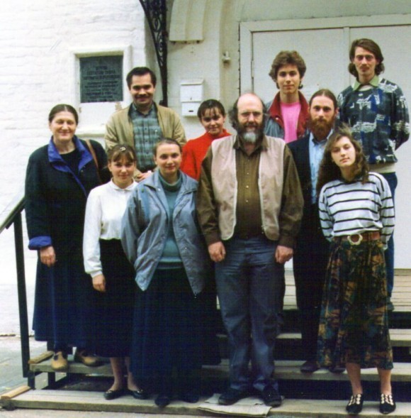 Молодежная конференция братства свт. Тихона. Клин, 1995 (Из архива Стива Хейса)