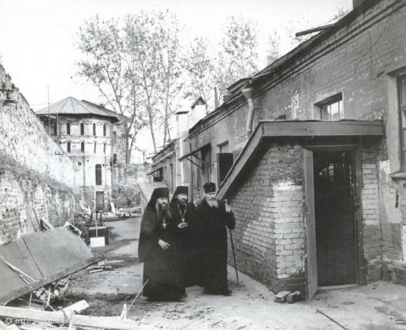 Даниловский монастырь. Между 1983 и 1985