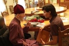 Беседа по-украински и по-испански, или встреча со старцем Слобожанщины (+ фото)