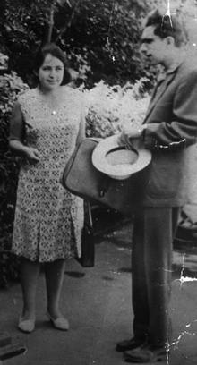 Т.В.Васильева и С.C.Аверинцев. 1964 г.