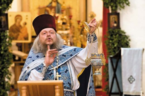 протоиерей Андрей Горячев. Фото Сергея Губачева