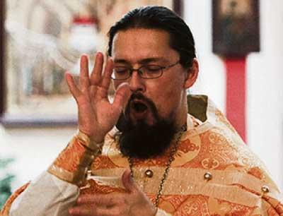 священник Валентин Терехов. Фото Евгения Гладина