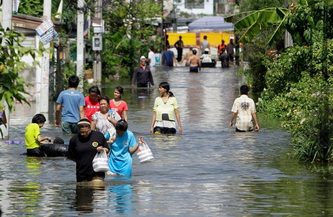 Наводнение в Таиланде (2)