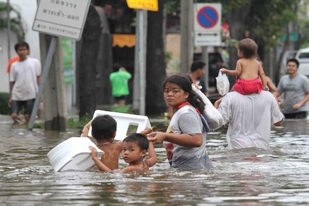Наводнение в Таиланде (3)