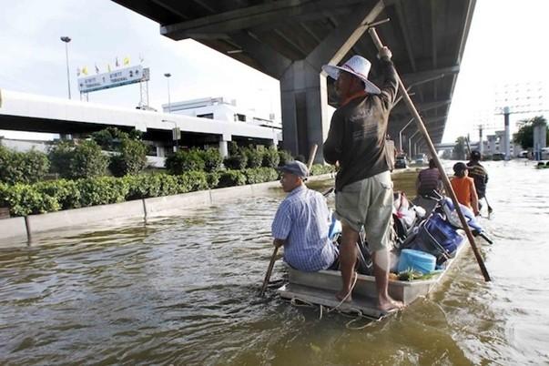 Наводнение в Таиланде (5)