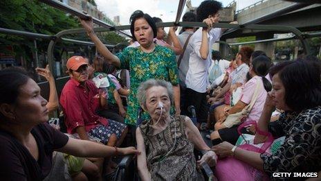 Наводнение в Таиланде (7)