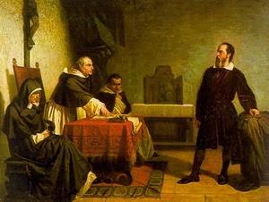Галилей перед Инквизицией (картина Кристиано Банти, 1857 год)