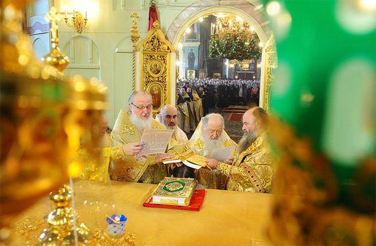 Хиротония архимандрита Геннадия (Гоголева) во епископа Каскеленского, викария Астанайской епархии