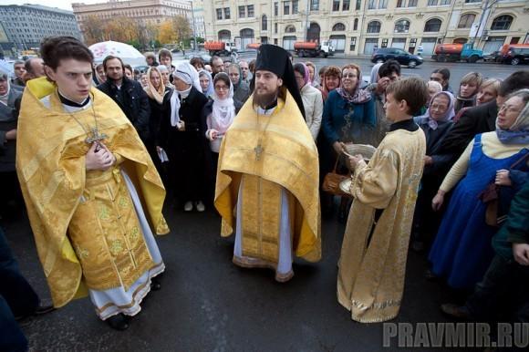 Литургия на Новой площади. Фото: Юлия Маковейчук. (33)