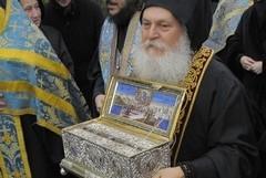 Пояс Пресвятой Богородицы принесен в Санкт-Петербург [фото]