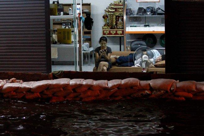 Наводнение в Таиланде (1)