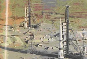 Стартовый комплекс ракет «Н-1» на космодроме «Байконур»