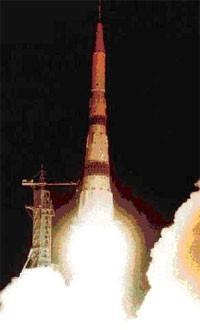 Старт ракеты «Н-1»