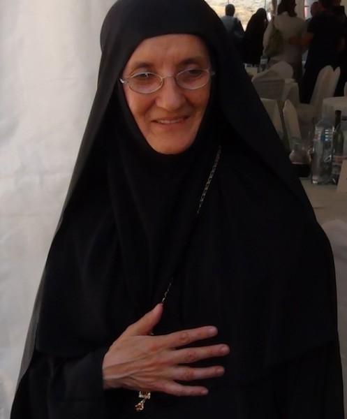 Игуменья Елена, настоятельница монастыря Жича