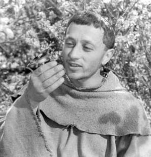 """Кадр из фильма """"Франциск шут Божий"""", режиссер Роберто Росселлини, 1950"""