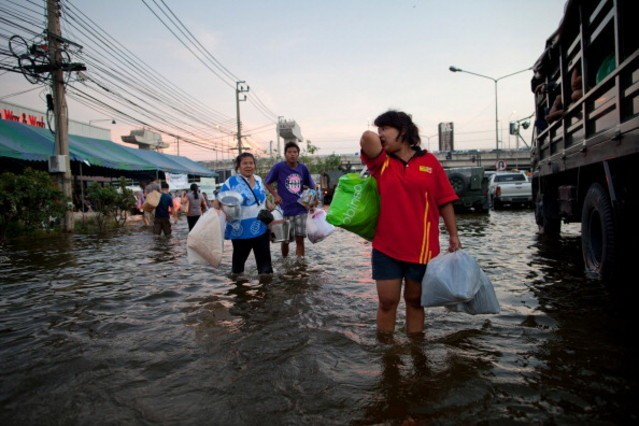 Наводнение в Таиланде (9)