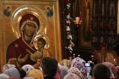 Иверская икона Божией Матери — с пронзенным ликом