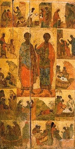 Косма и Дамиан, XV век, Вологда