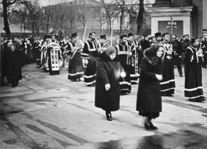 Крестный ход, 1970-е гг.