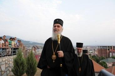 Патриарх Ириней призывает сербов Северного Косова обороняться