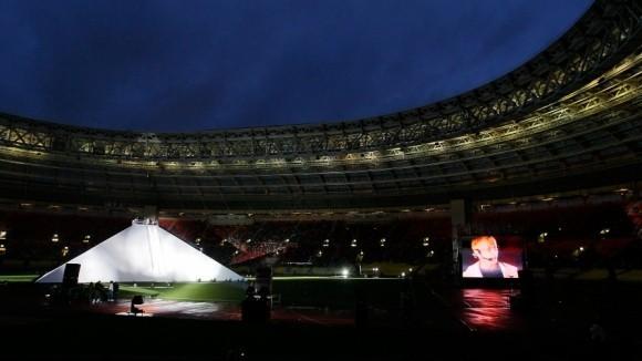 Пирамида Ивана Охлобыстина. Фото РИА-Новости.