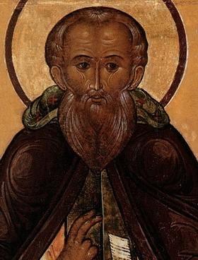 Преподобный Савва Сторожевский управлял общиной (Сергий Радонежский)