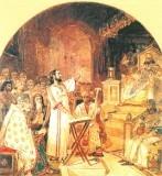 В 325 году в г. Никее произошел I Вселенский Собор, где Церковь утвердила догмат об единосущии Бога Отца и Иисуса Христа. Этим была подтверждена вера Церкви в то, что Христос – это Бог